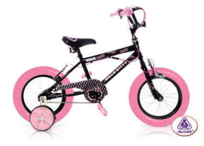 bicicleta HELLO KITTY BLACK 12""