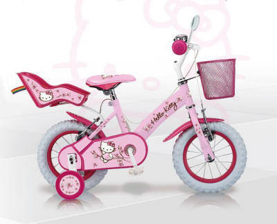 bicicleta hello kitty romantic