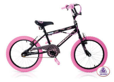 bicicleta HELLO KITTY BLACK 16""