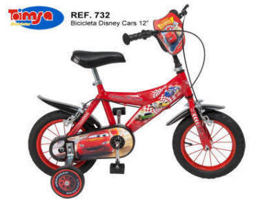 BICI DISNEY CARS 12""