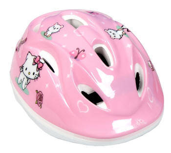 CASCO BICICLETA CHARMY KITTY