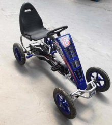 KART A PEDALES F81 AZUL