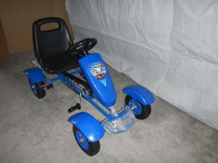 Kart a pedales sports blue