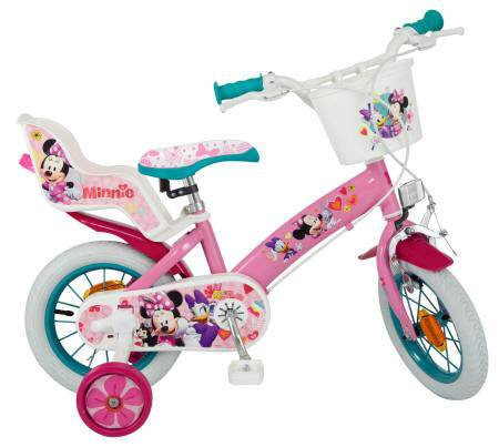 BICICLETA MINNIE CLUBHOUSE 12