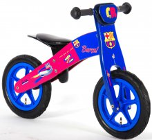 Bicicleta de Madera 12 Pulgadas del Barcelona