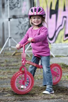 Bicicleta Evolutiva Bubble Pink 01