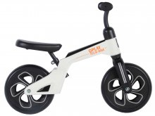 Bicicleta evolutiva QPlay Balance 10 pulgadas Blanca/Negra
